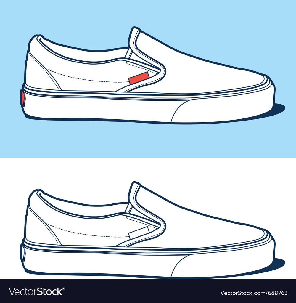Sport shoe vector | Price: 1 Credit (USD $1)