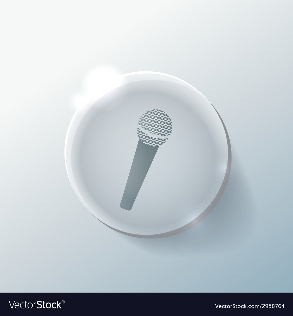 Microphone vector | Price: 1 Credit (USD $1)