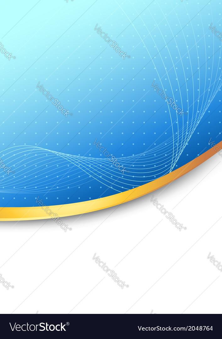 Modern folder blue background concept vector | Price: 1 Credit (USD $1)