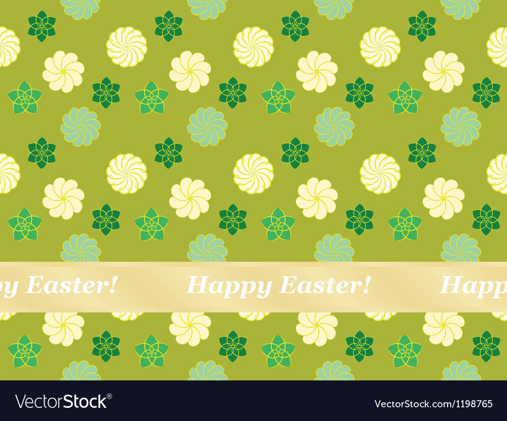 Happy easter pattern vector   Price: 1 Credit (USD $1)
