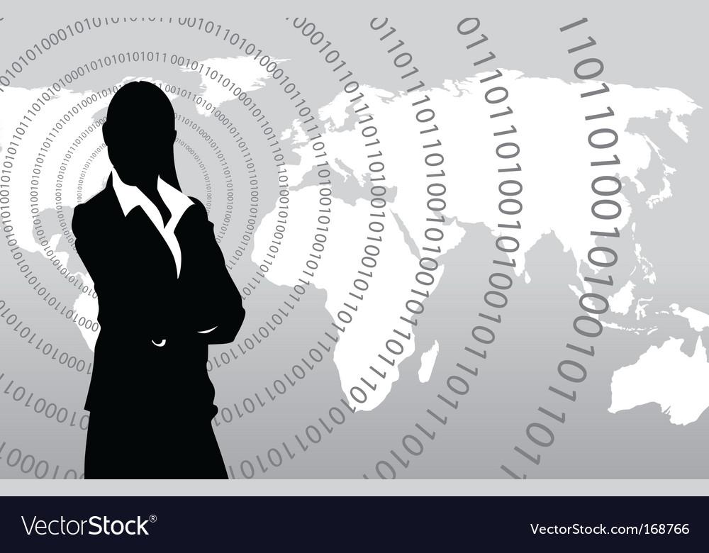 World communications vector | Price: 1 Credit (USD $1)
