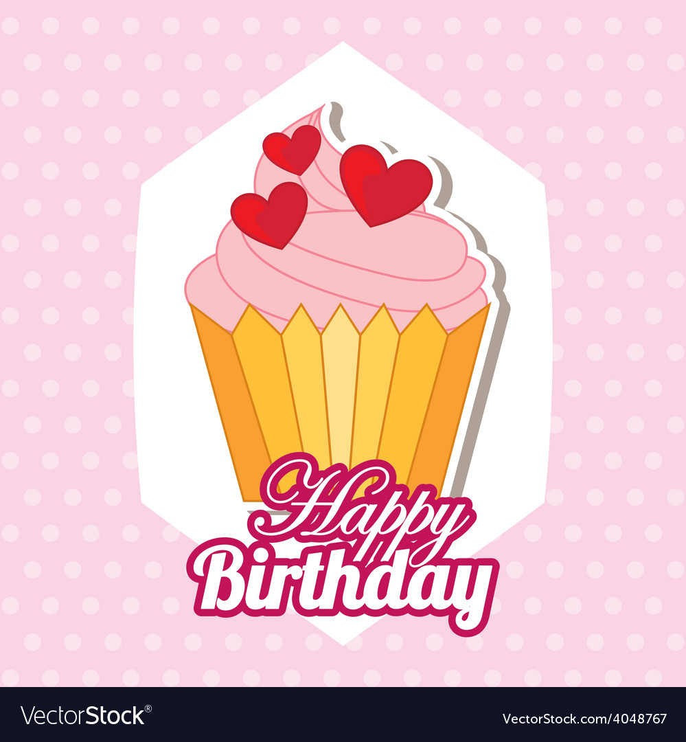 Happy birthday vector | Price: 1 Credit (USD $1)
