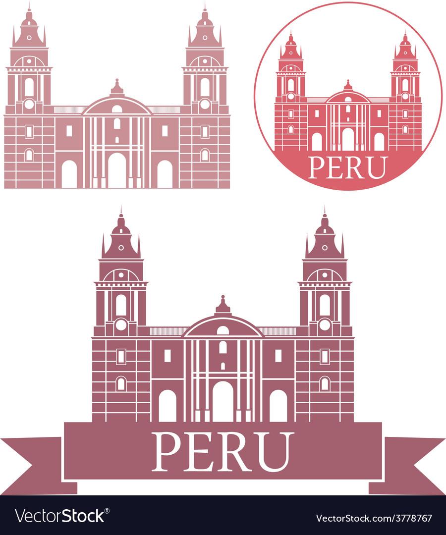 Peru vector | Price: 1 Credit (USD $1)