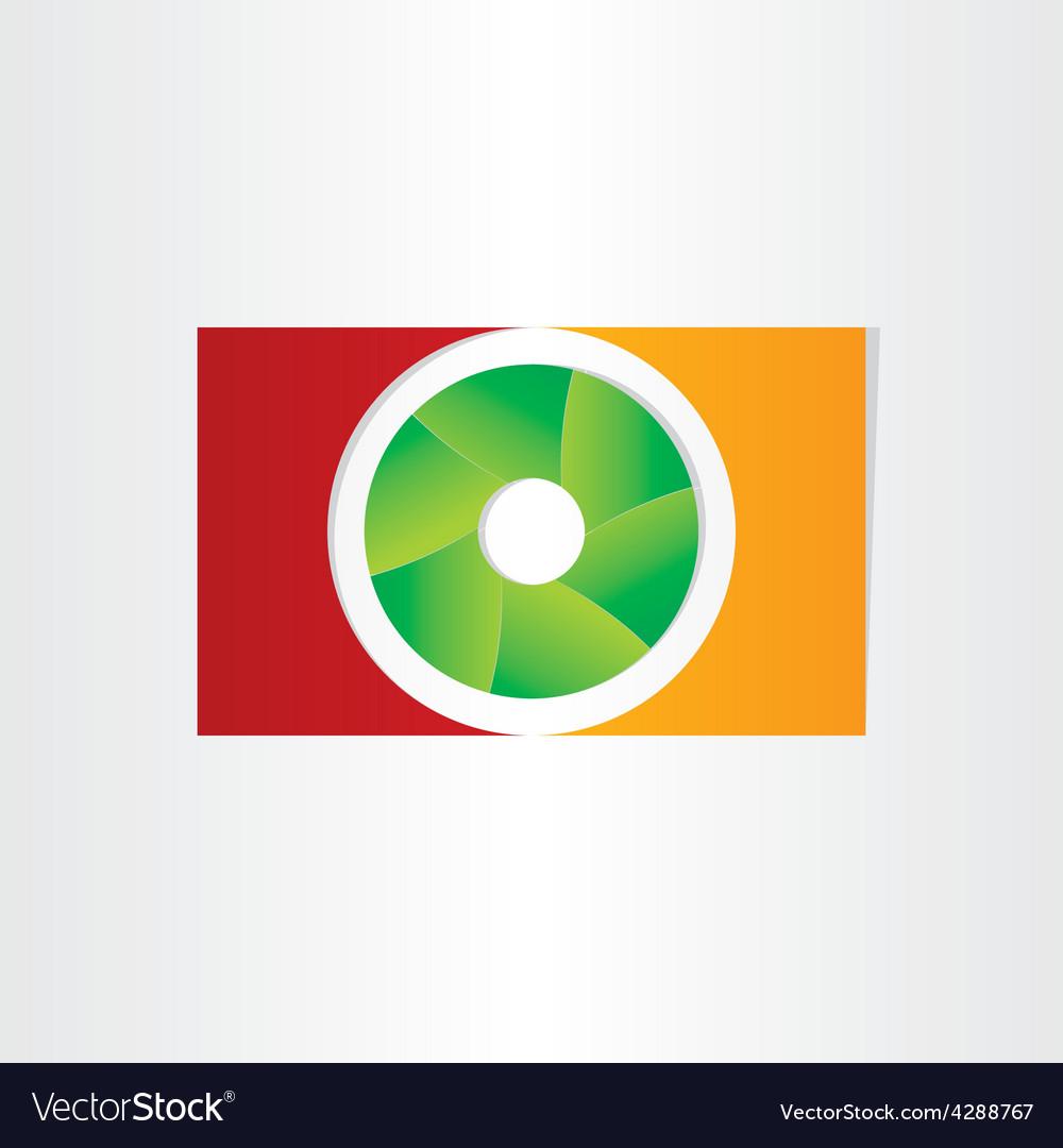 Shutter camera photo design vector | Price: 1 Credit (USD $1)