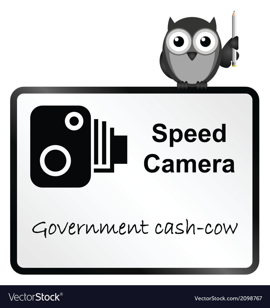Speed camera vector | Price: 1 Credit (USD $1)