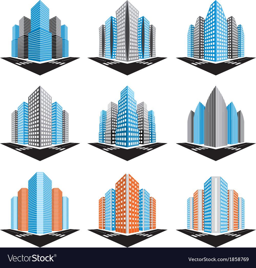 Buildings vector   Price: 1 Credit (USD $1)