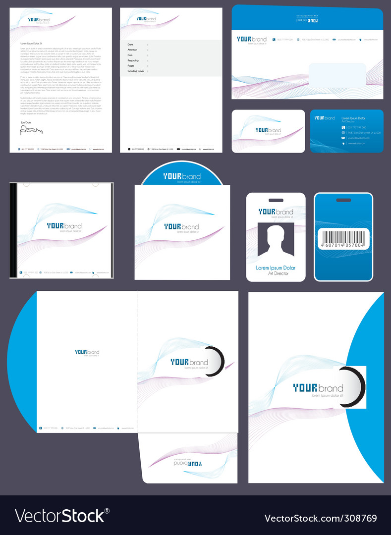 Corporate identity vector | Price: 3 Credit (USD $3)