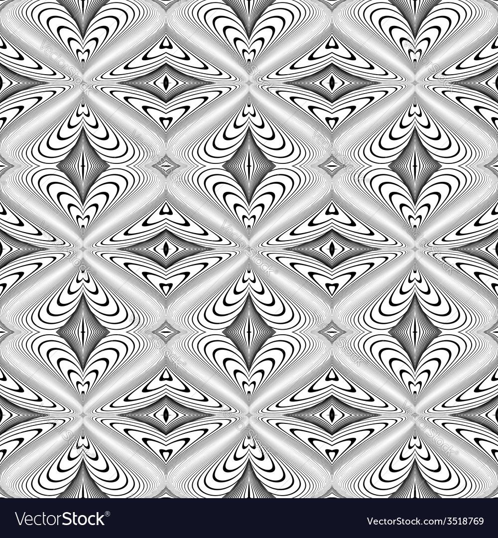 Design seamless decorative geometric pattern vector   Price: 1 Credit (USD $1)