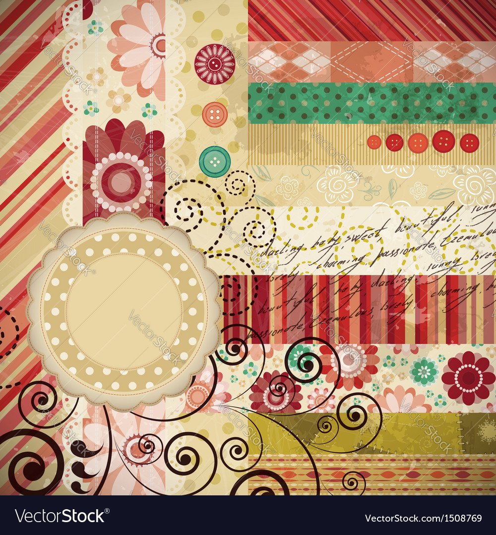 Scrapbooking elements vector | Price: 1 Credit (USD $1)