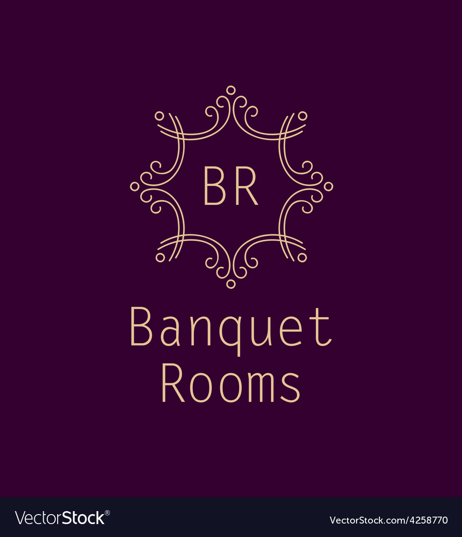 Banquet rooms vector | Price: 1 Credit (USD $1)