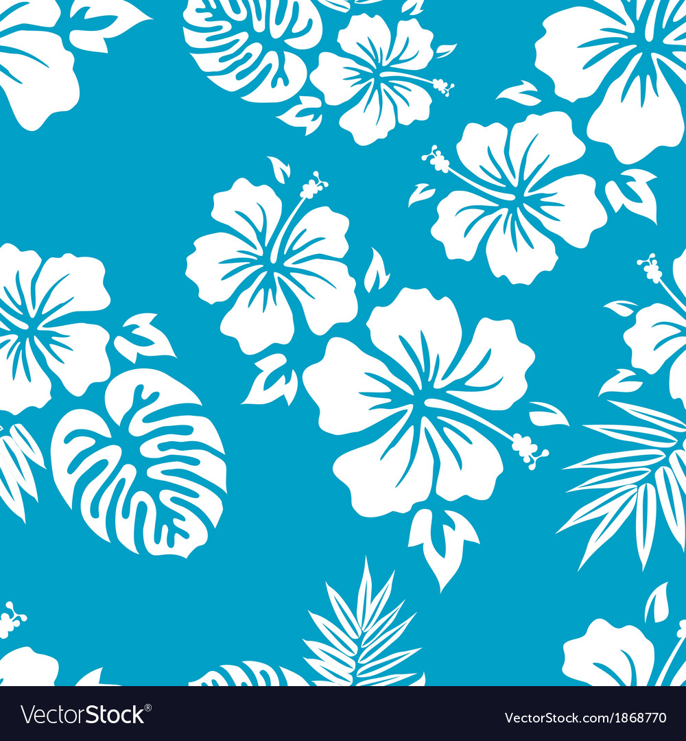Blue aloha vector | Price: 1 Credit (USD $1)