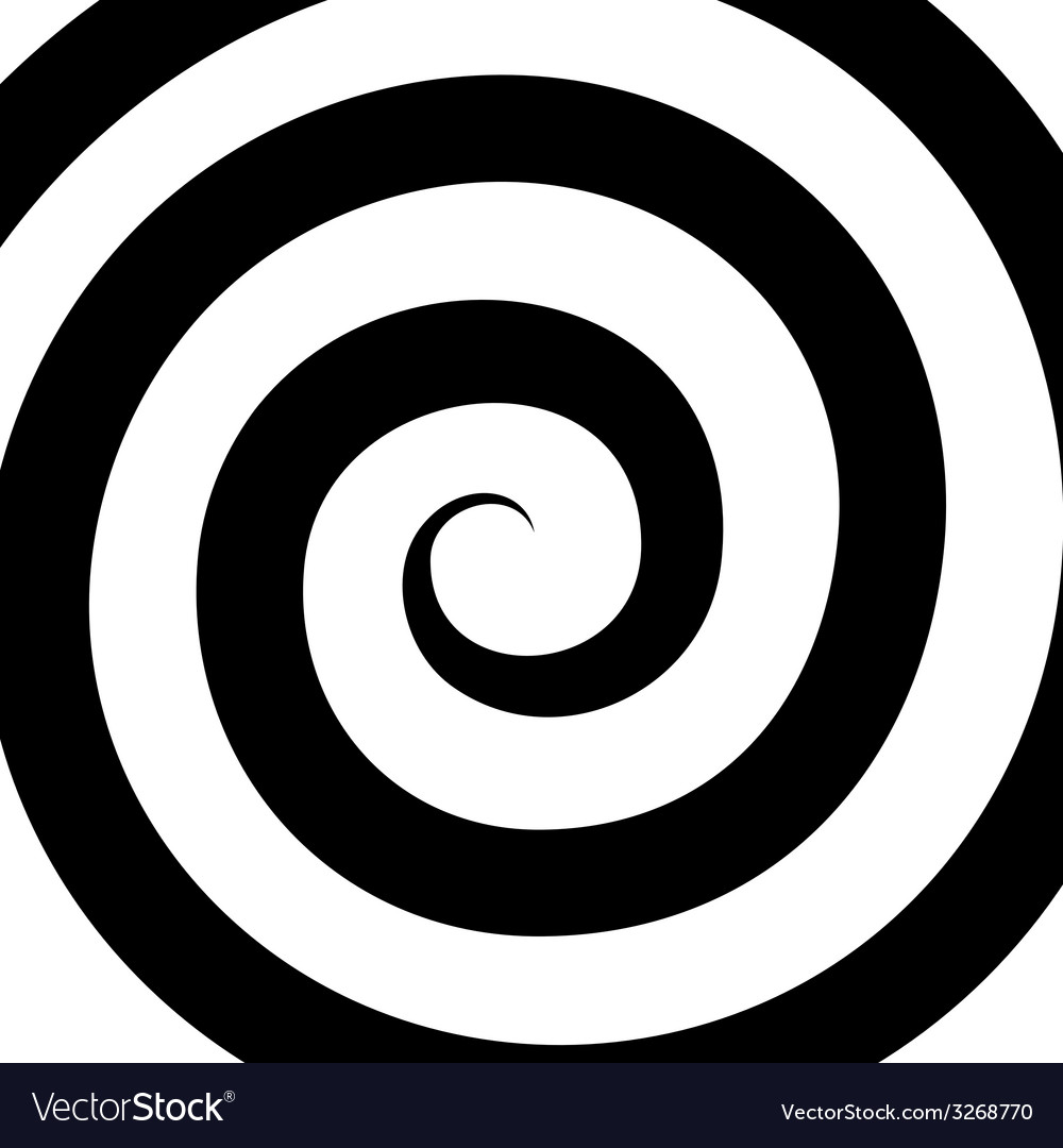 Hypnosis spiral pattern optical vector | Price: 1 Credit (USD $1)
