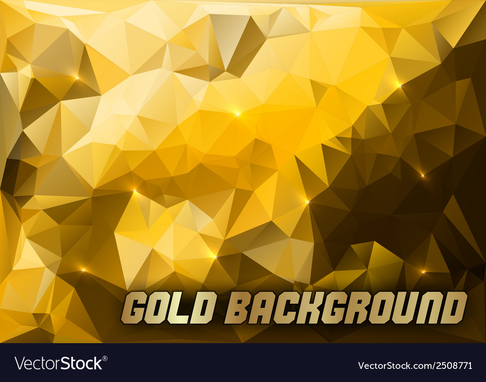 Triangles gold vector | Price: 1 Credit (USD $1)
