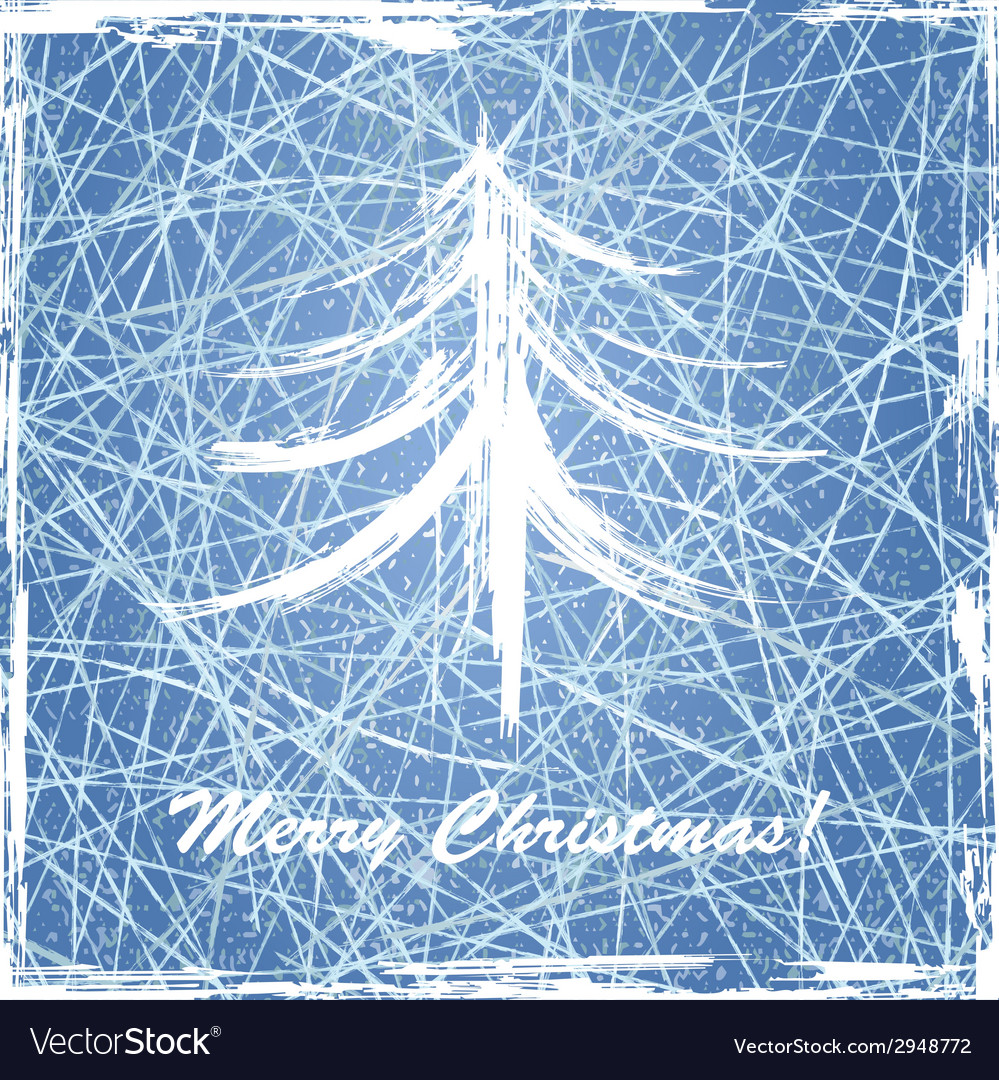 Christmas background with ice texture vector | Price: 1 Credit (USD $1)