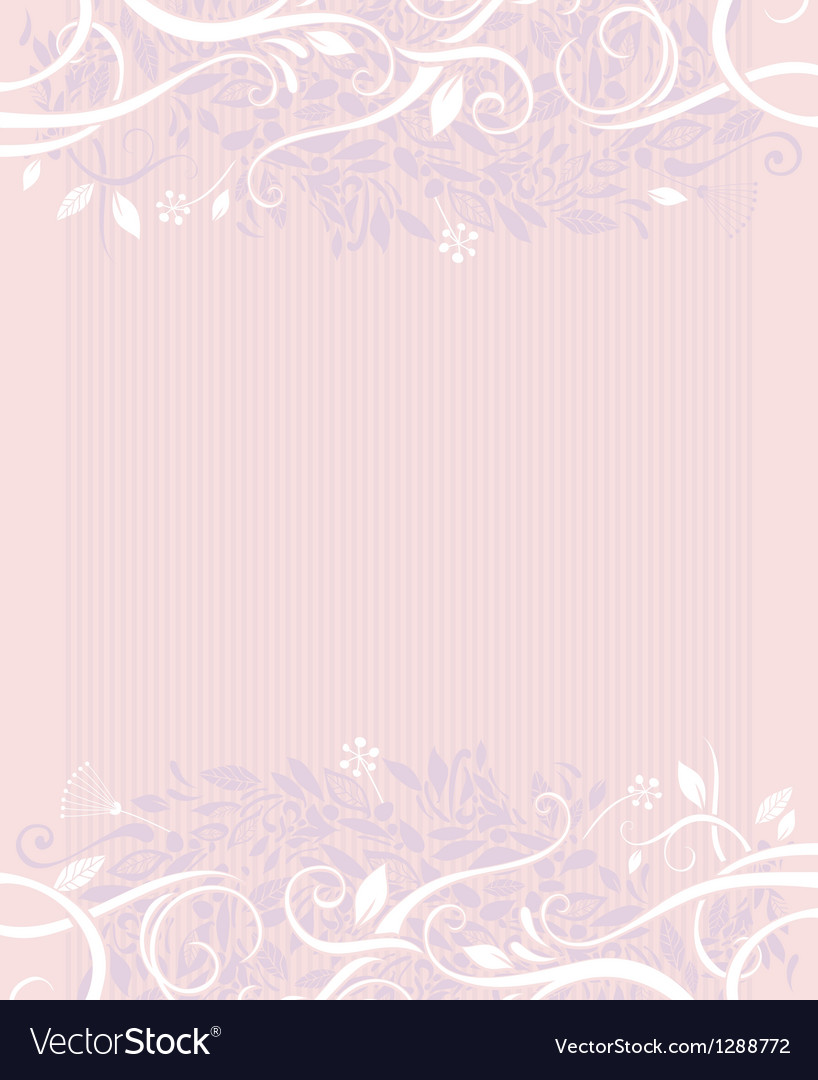 Decorative wedding background vector | Price: 1 Credit (USD $1)
