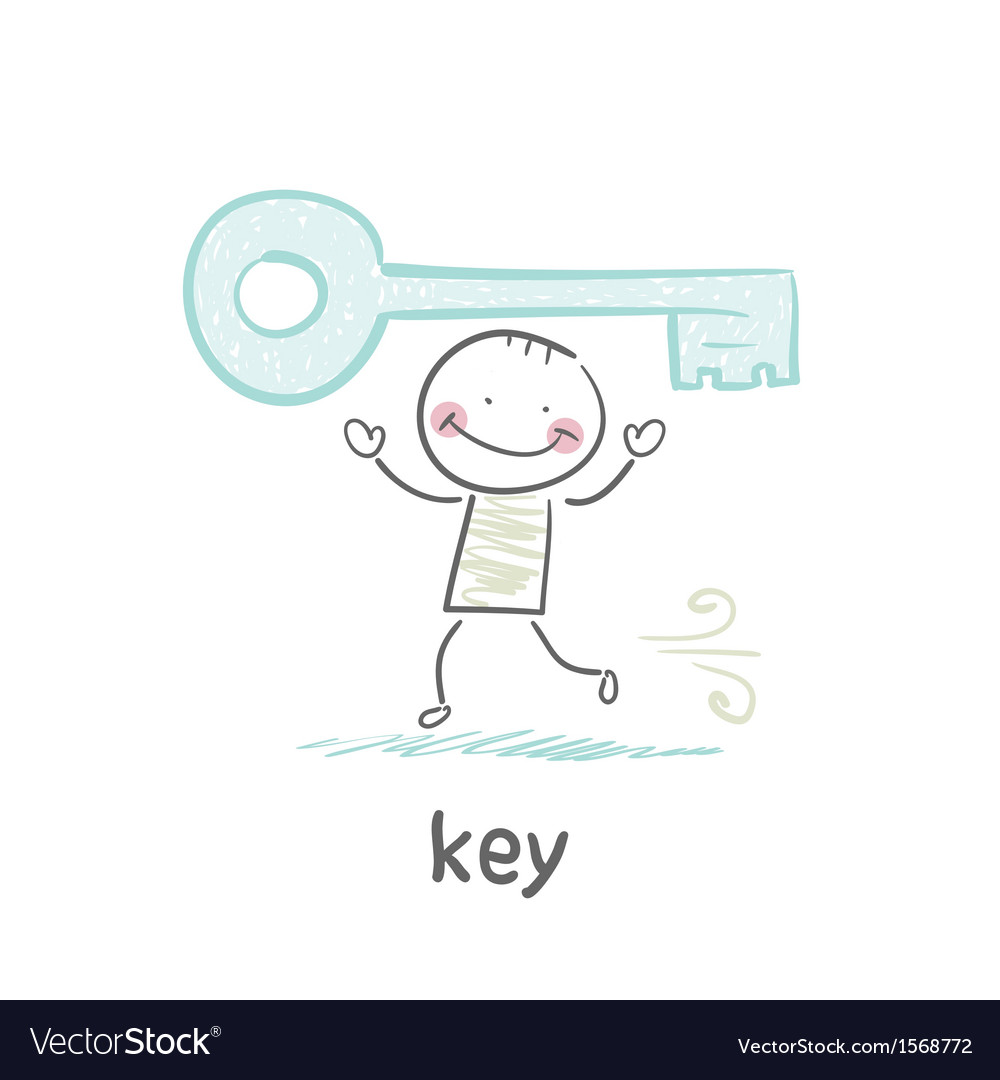 Key vector | Price: 1 Credit (USD $1)
