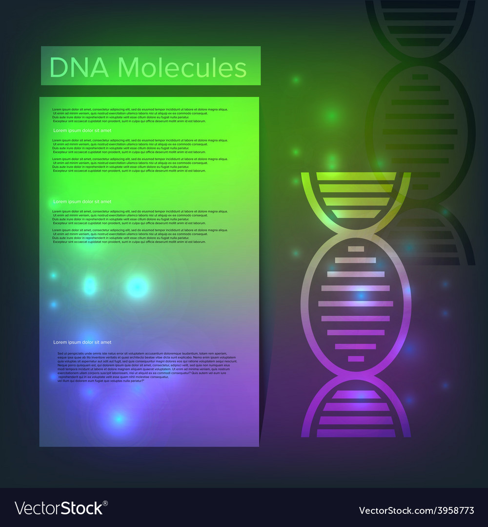 Dna healthcare background vector | Price: 1 Credit (USD $1)
