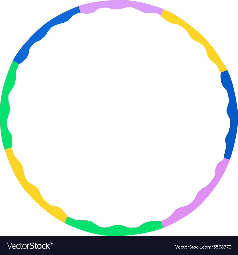 Hula hoop vector | Price: 1 Credit (USD $1)