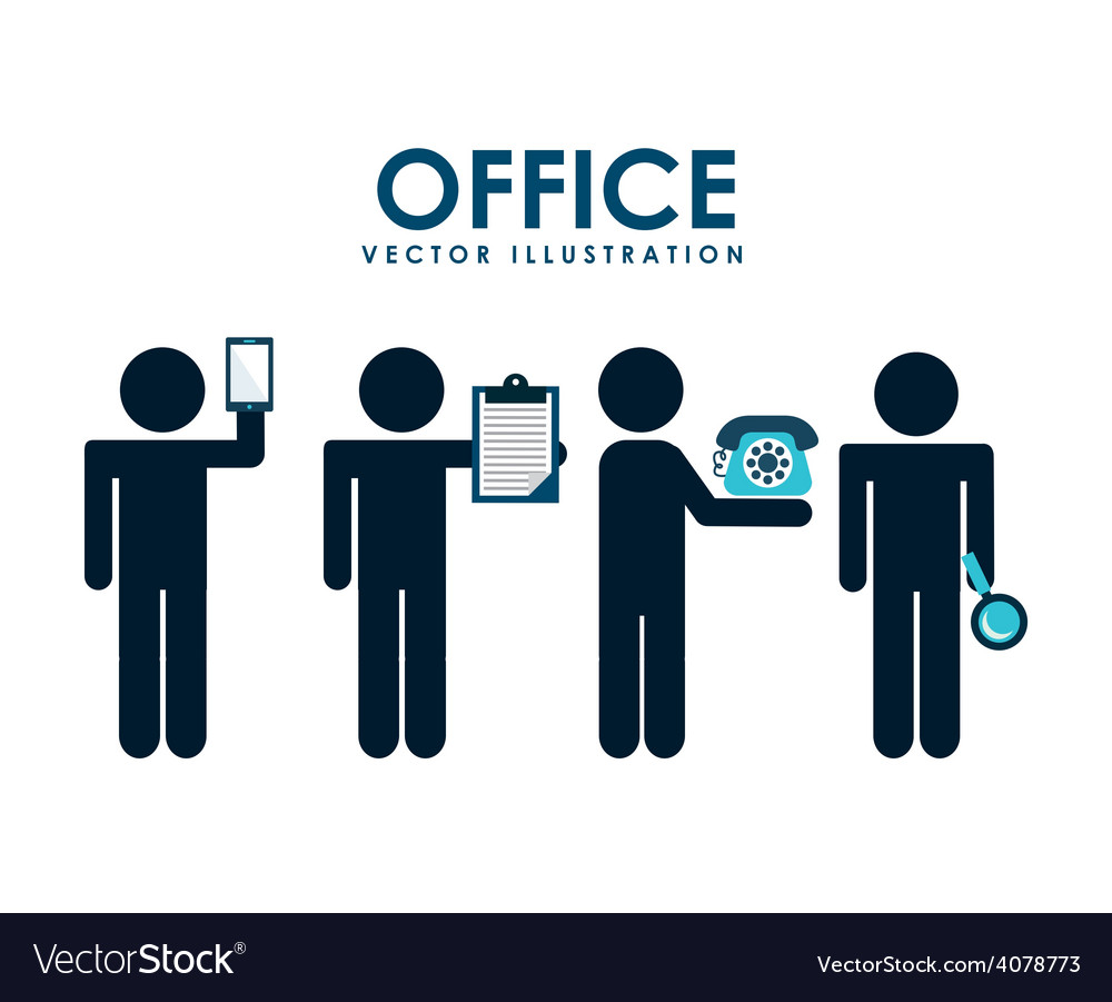 Office concept vector | Price: 1 Credit (USD $1)