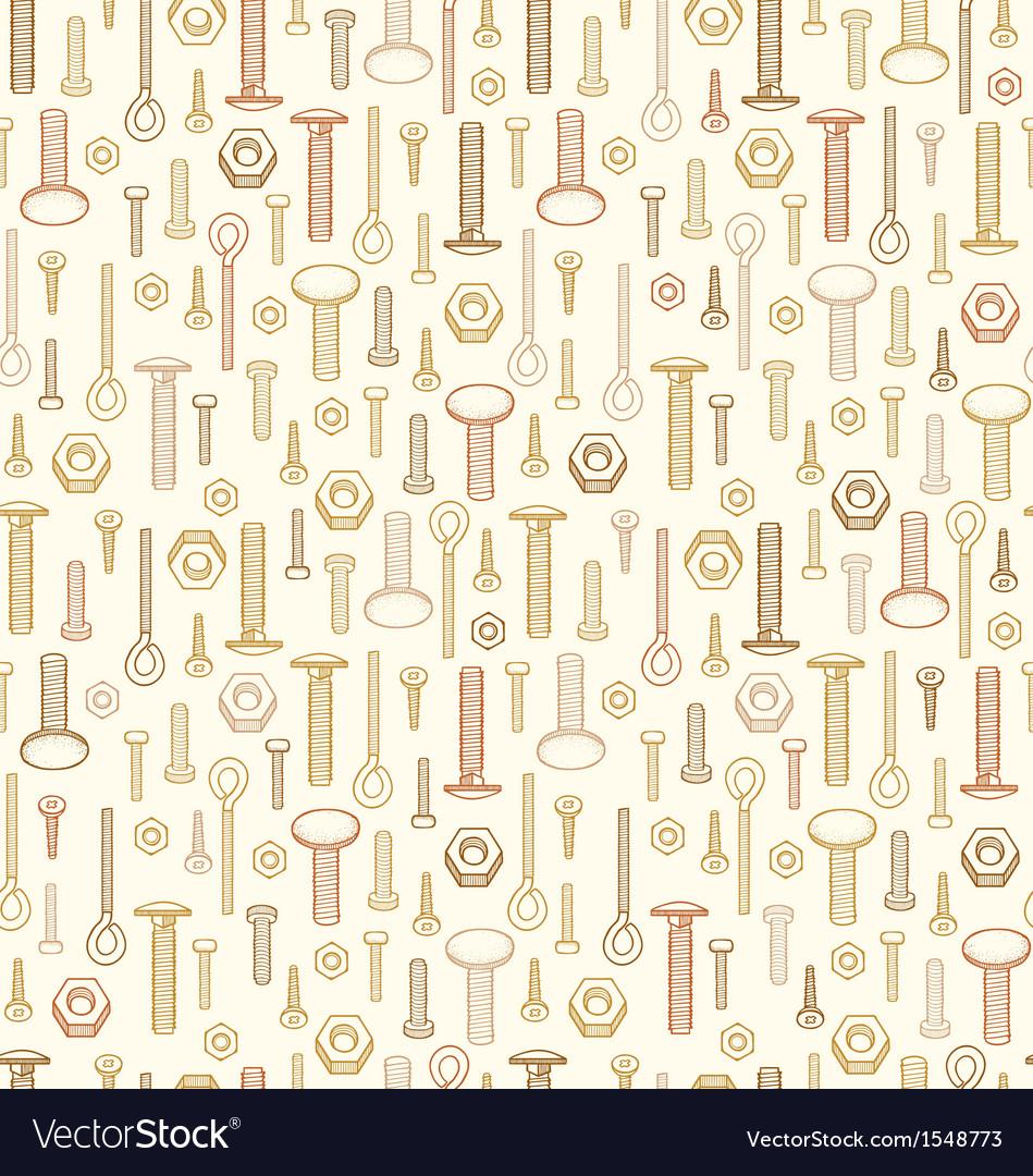 Screws pattern vector