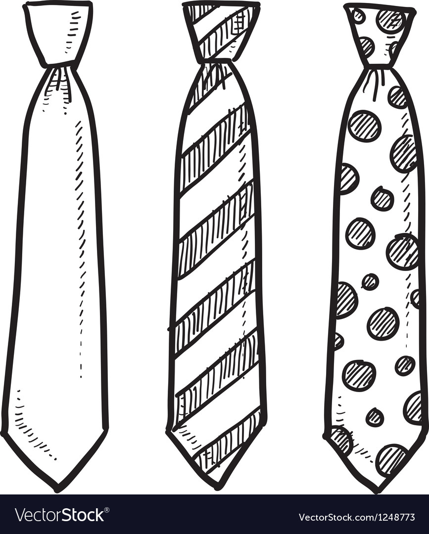 Ties vector | Price: 1 Credit (USD $1)