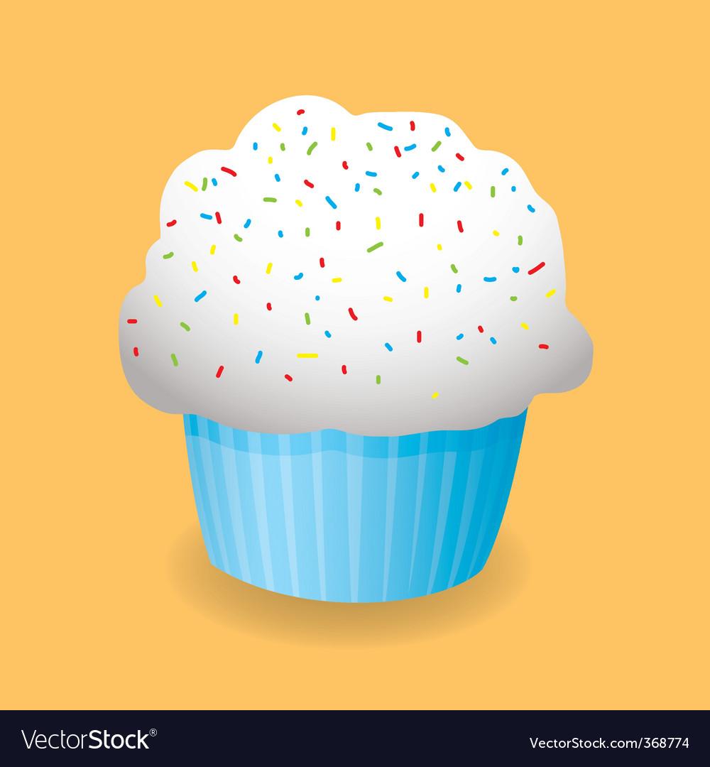 Cartoon cupcake vector   Price: 1 Credit (USD $1)
