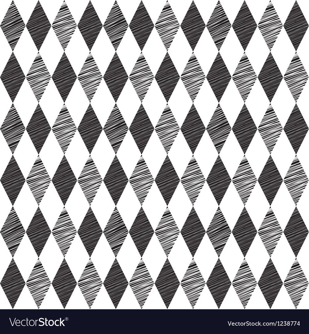 Rhombus retro background vector | Price: 1 Credit (USD $1)