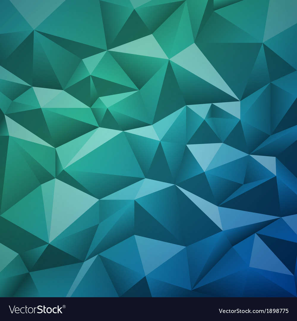 Geometric abstract low-poly paper background vector | Price: 1 Credit (USD $1)