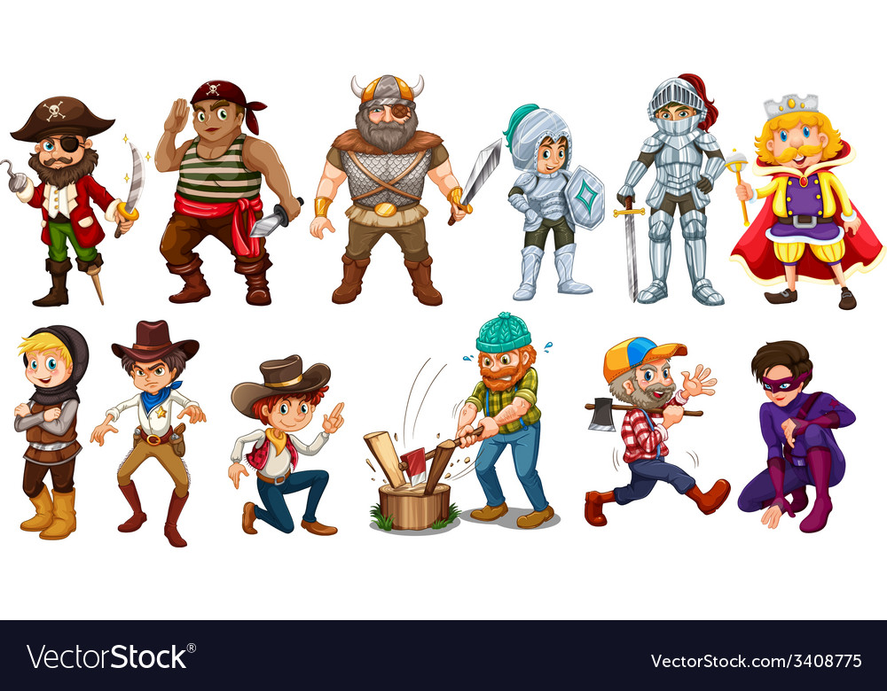 Male characters vector   Price: 1 Credit (USD $1)