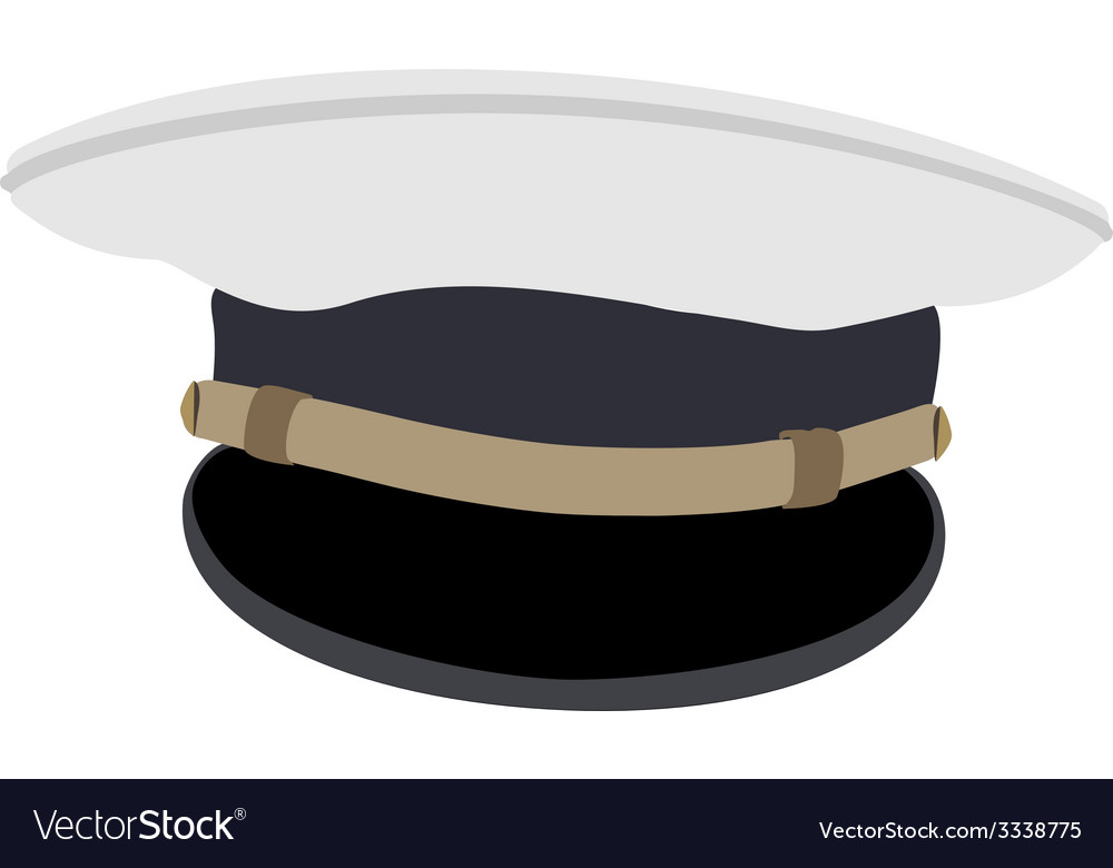 Navy cap vector | Price: 1 Credit (USD $1)