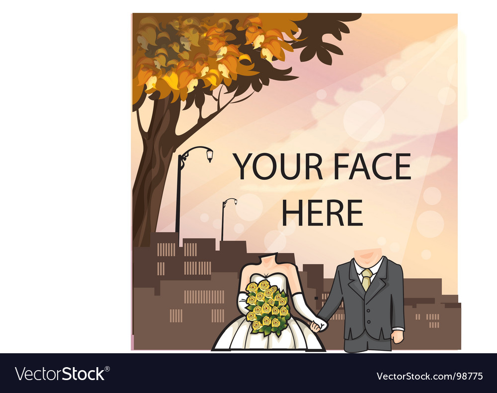 Wedding template vector | Price: 1 Credit (USD $1)