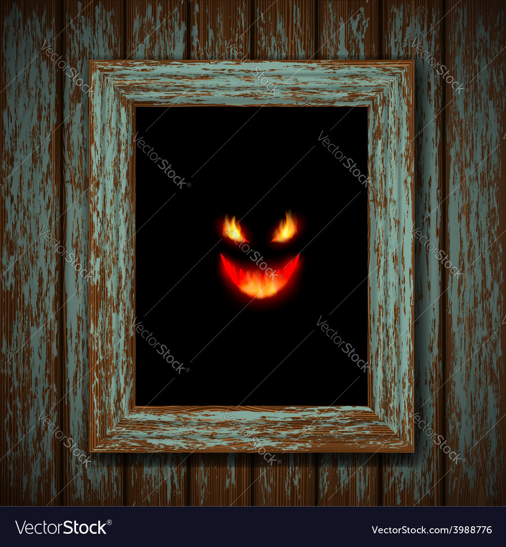 Ghost in the window vector | Price: 1 Credit (USD $1)