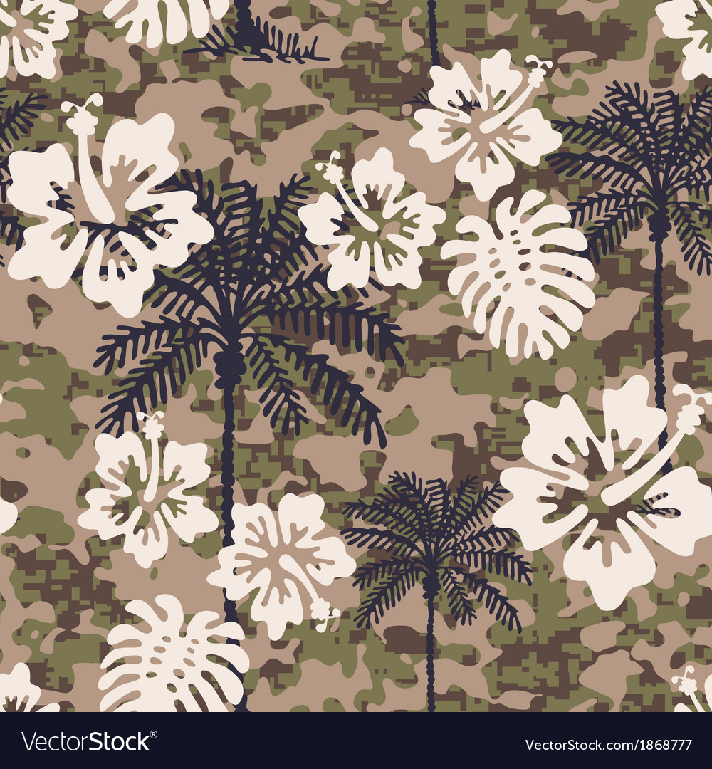 Aloha camouflage vector | Price: 1 Credit (USD $1)