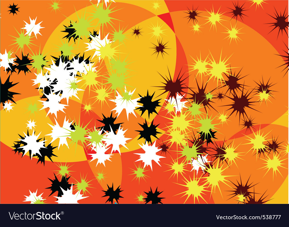 Crazy abstract backgroun in orange vector | Price: 1 Credit (USD $1)