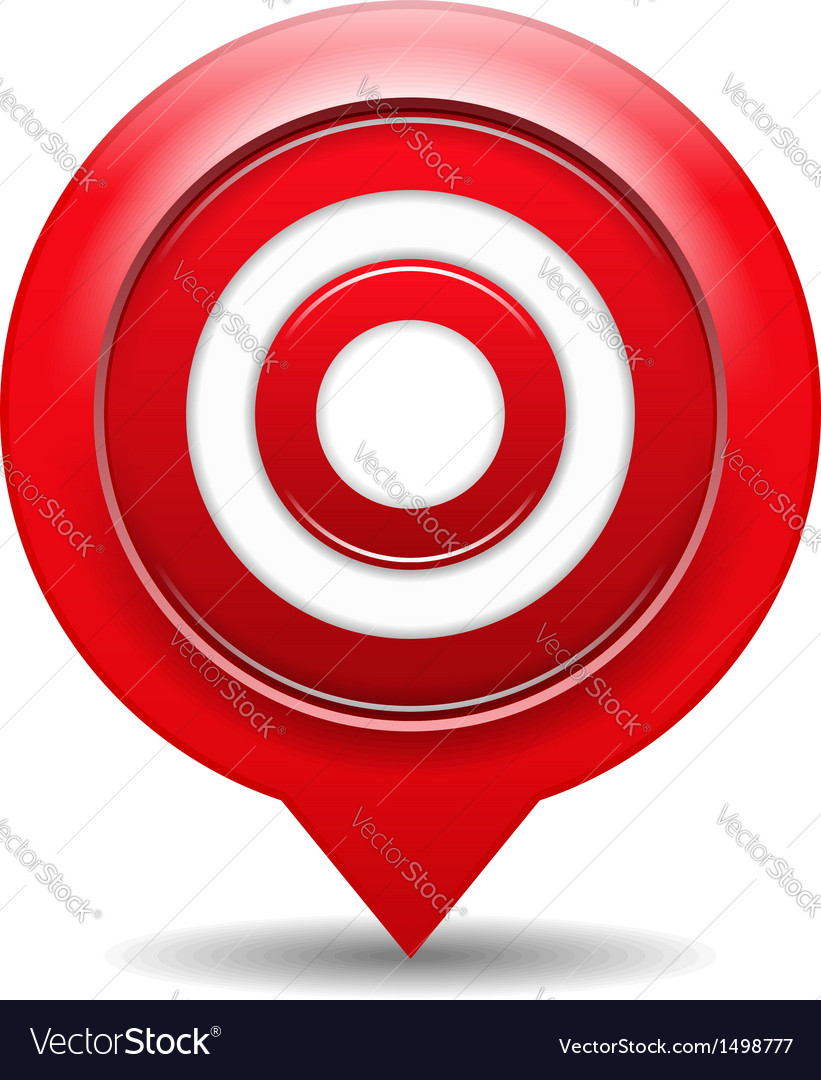 Red target vector   Price: 1 Credit (USD $1)