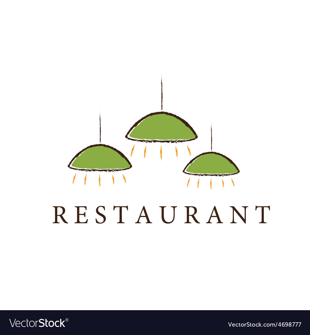 Restaurant lamps vector | Price: 1 Credit (USD $1)