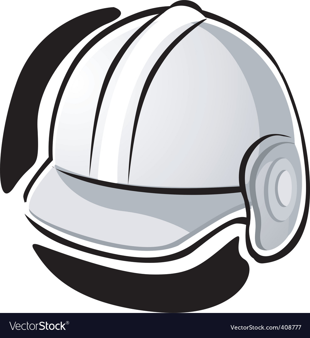 Working equipment with hat vector | Price: 1 Credit (USD $1)