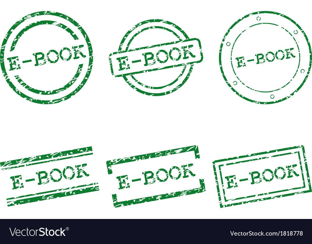 E-book stamps vector | Price: 1 Credit (USD $1)