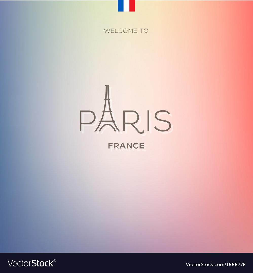 World-cities-labels---paris-vector