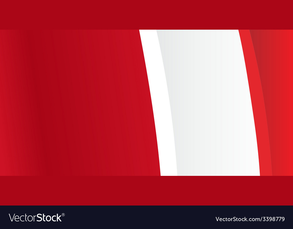 Background with waving peruvian flag vector | Price: 1 Credit (USD $1)