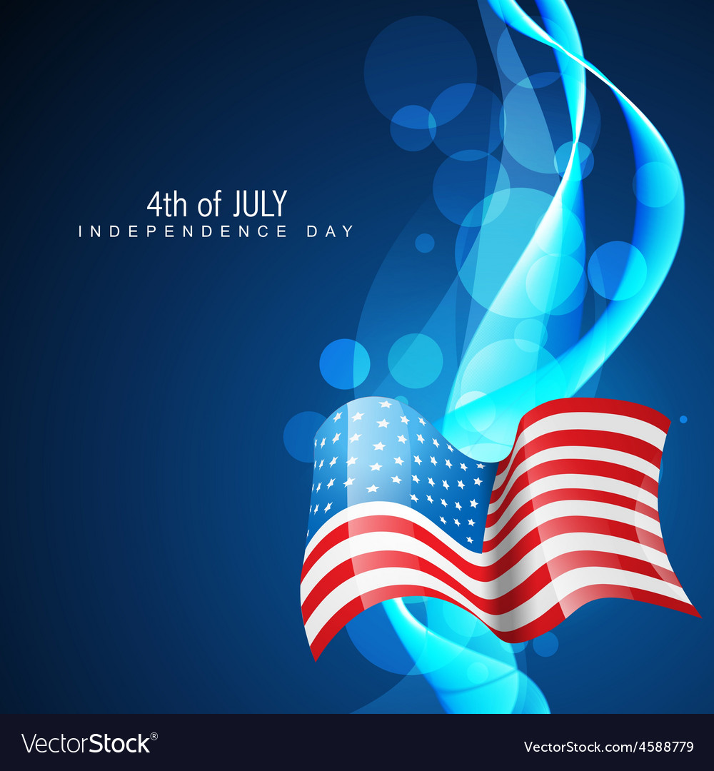 Independence day 4th of july vector | Price: 1 Credit (USD $1)