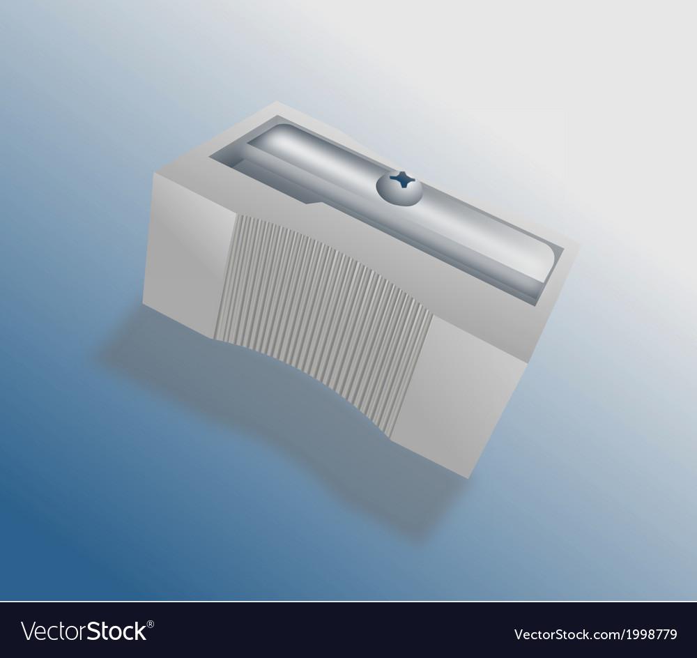 Metal pencil sharpener vector   Price: 1 Credit (USD $1)