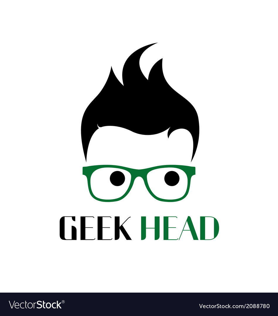 Cool geek logo vector | Price: 1 Credit (USD $1)