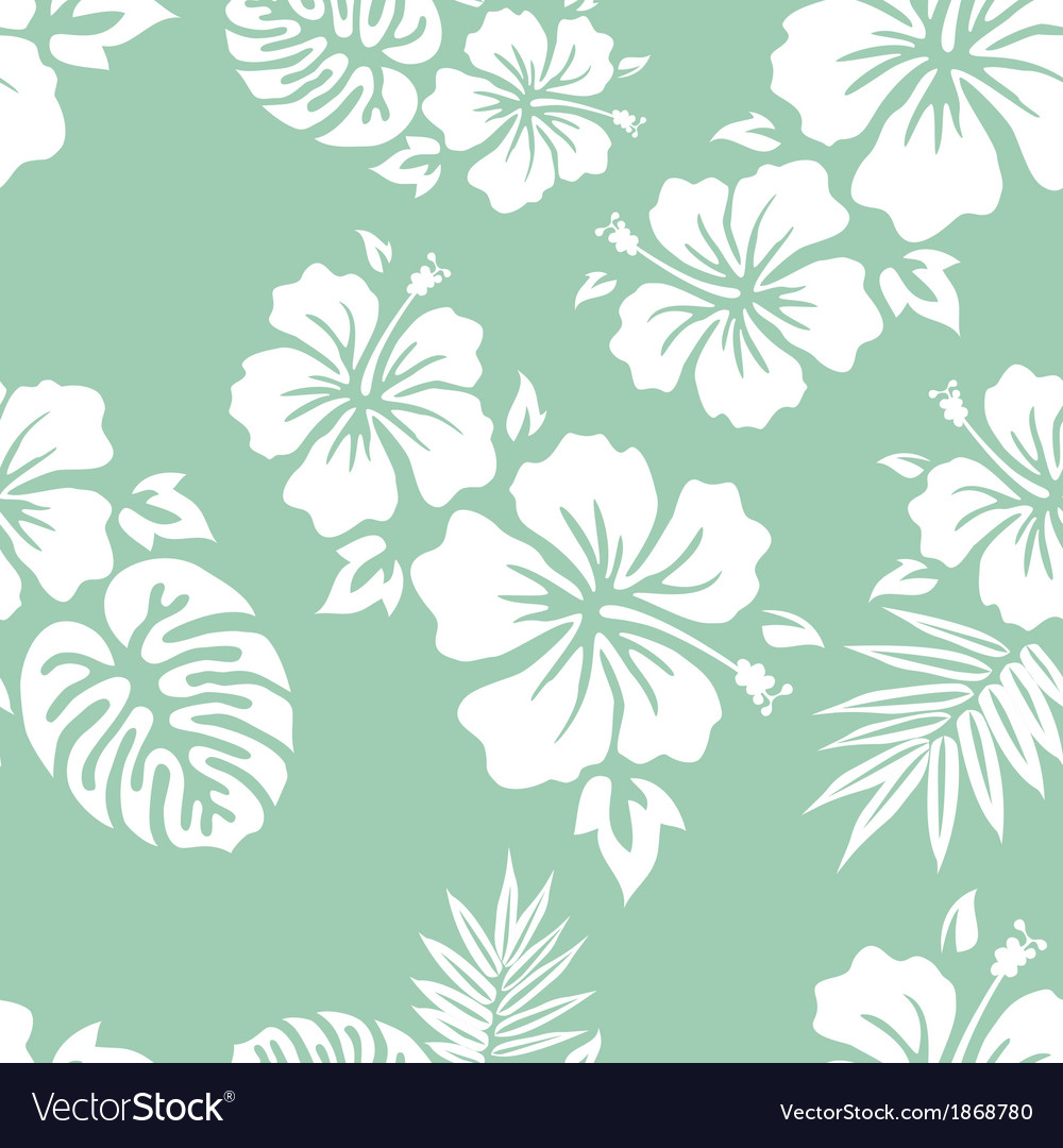 Hawaiian pattern vector | Price: 1 Credit (USD $1)