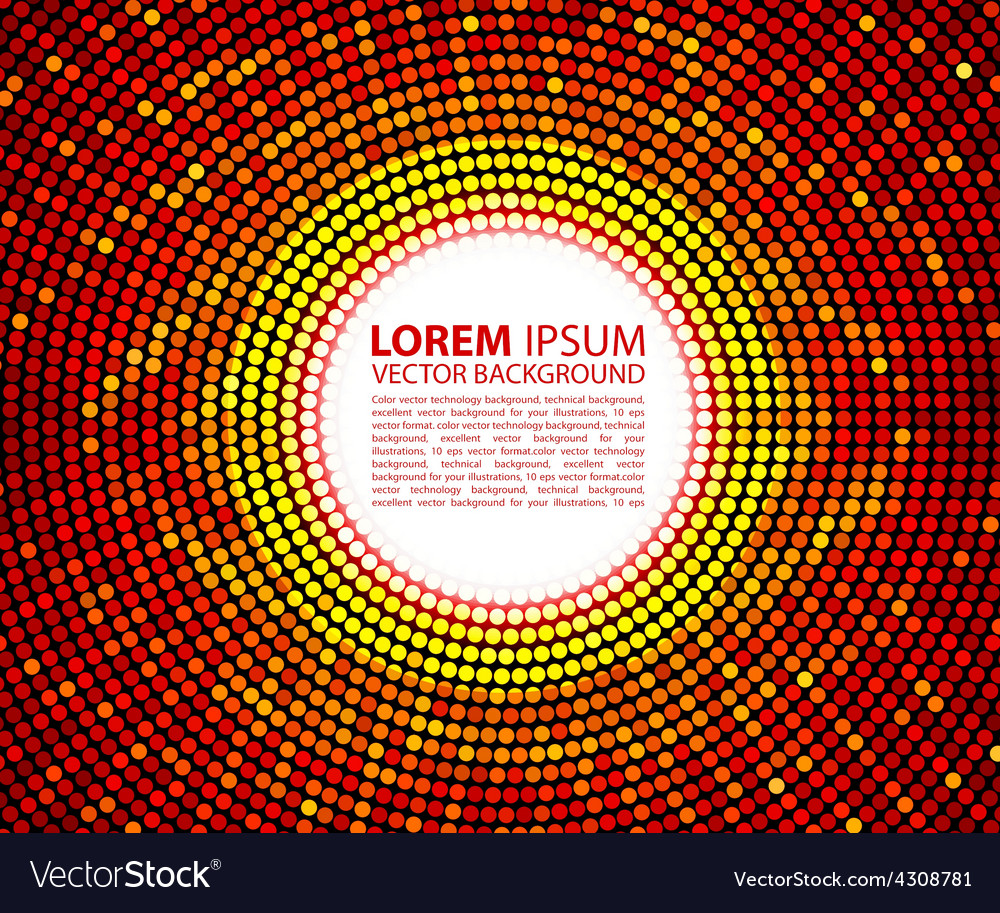 Abstract red circular background raster vector | Price: 1 Credit (USD $1)