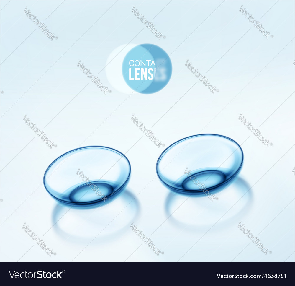 Contact lenses vector | Price: 1 Credit (USD $1)
