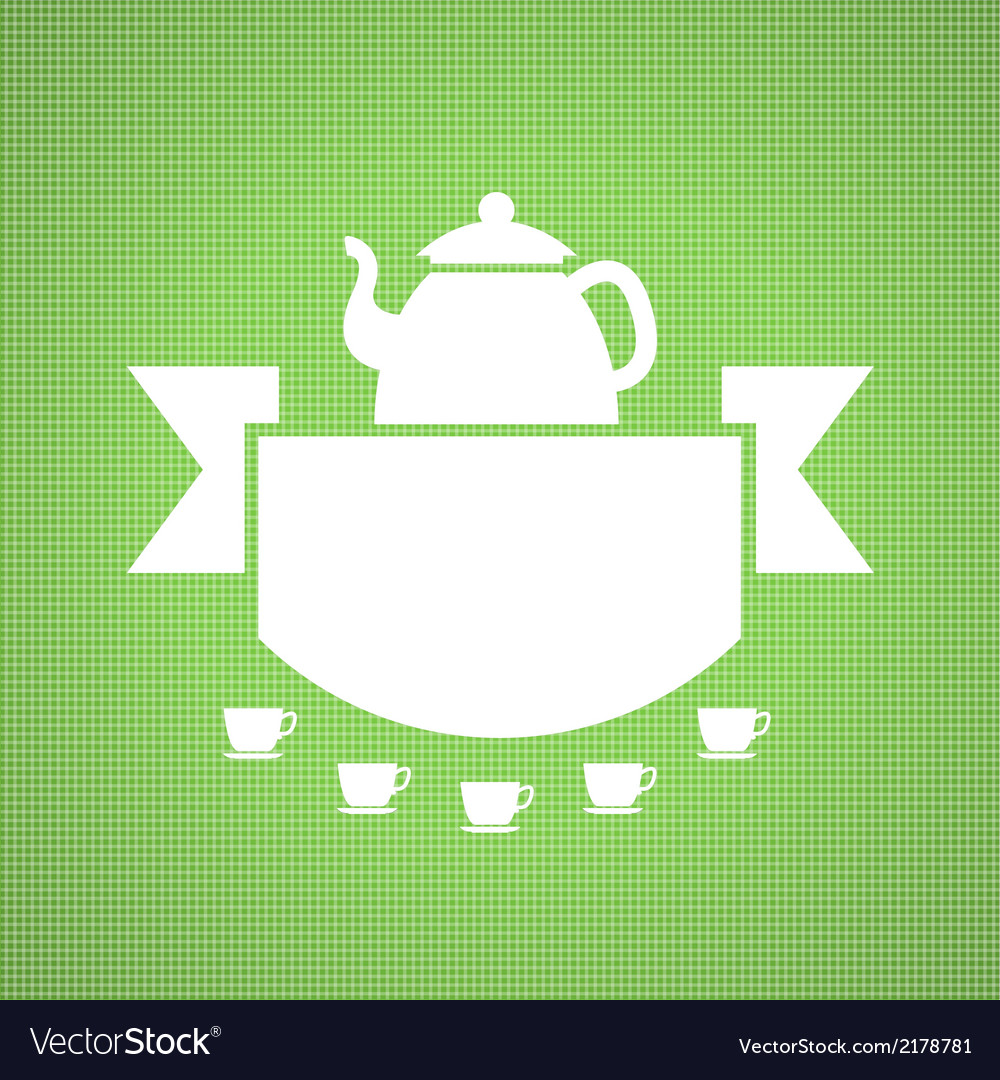 Teahouse design vector | Price: 1 Credit (USD $1)