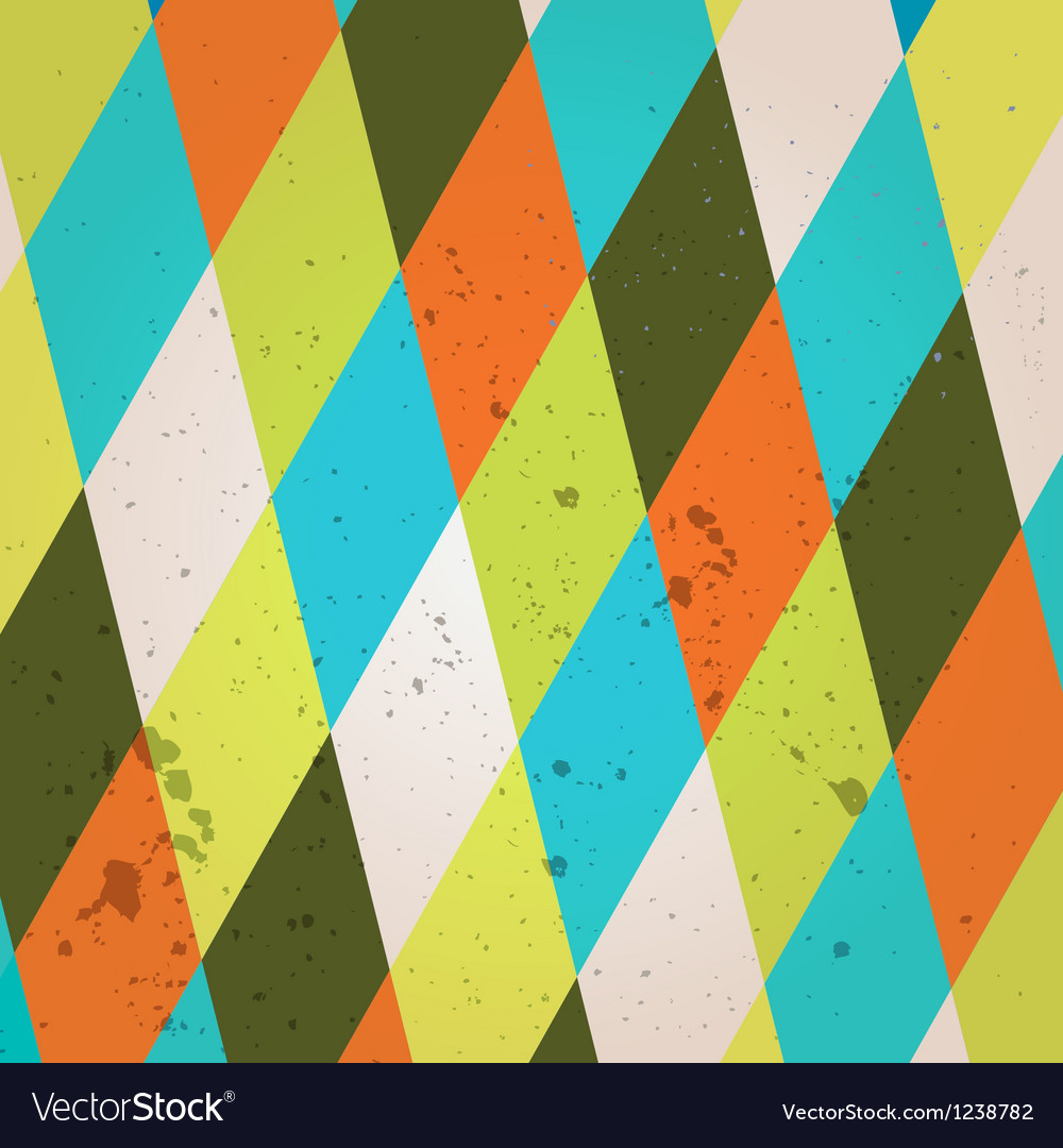 Abstract crumpled retro background vector | Price: 1 Credit (USD $1)