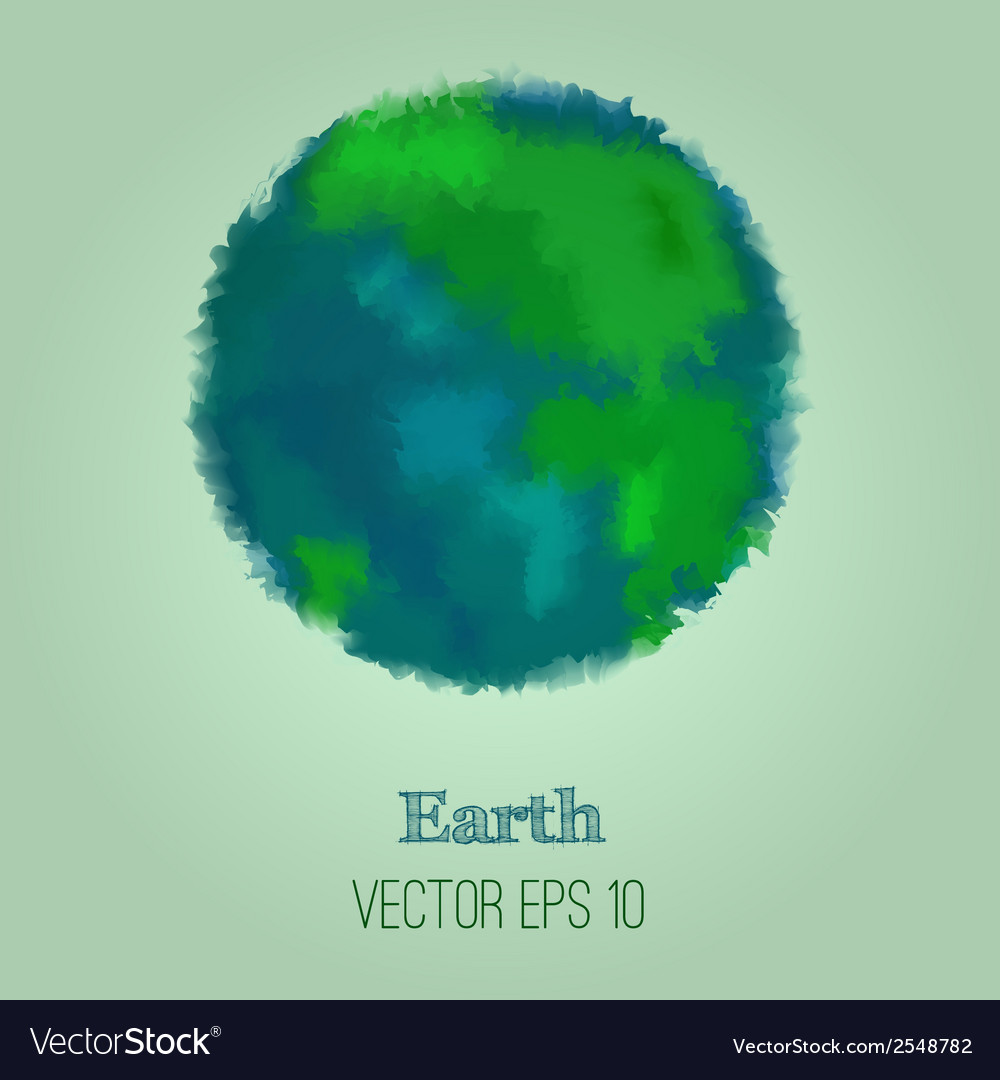 Abstract earth vector | Price: 1 Credit (USD $1)