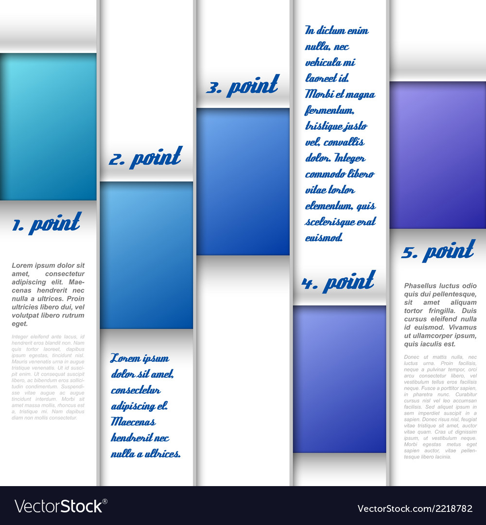 Blue window layout vector | Price: 1 Credit (USD $1)